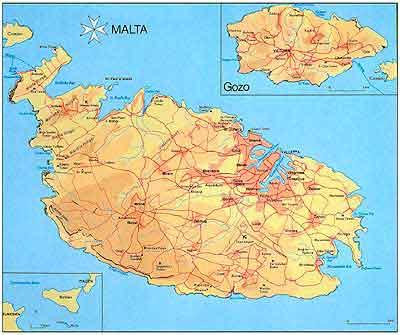 Isola Di Malta Cartina Geografica.Isola Di Malta Cartina Woztaxatieverslagen